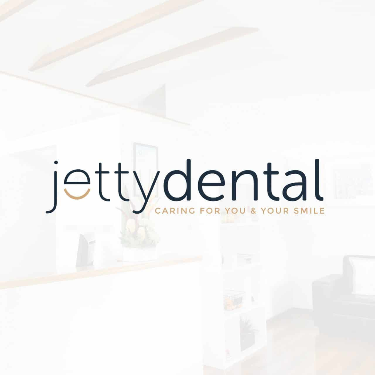 jetty dental logo design coffs harbour