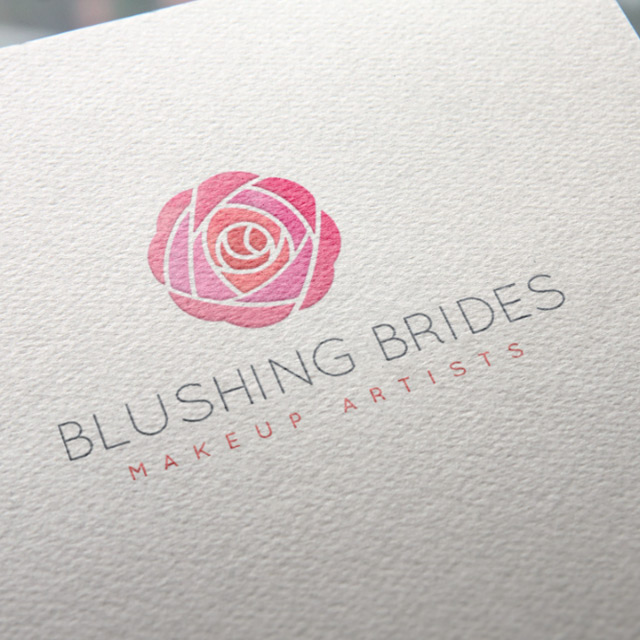 blushing brides logo design coffs.